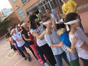 Actividad del grupo ALCES de la Parroquia de San Gerardo (Madrid).