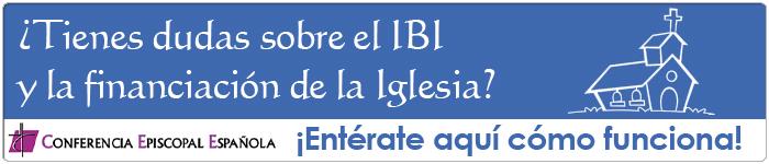 ¿Tienes duda sobre el IBI y la financiación de la Iglesia?