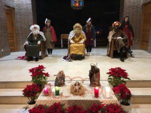 Los Reyes Magos en San Gerardo