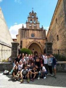 Jóvenes de la Parroquia de San Gerardo en la Misión de El Espino 2019