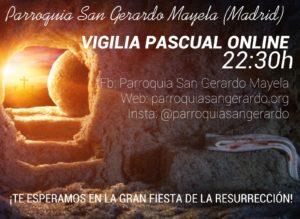 Vigilia Pascual, a las 22.30
