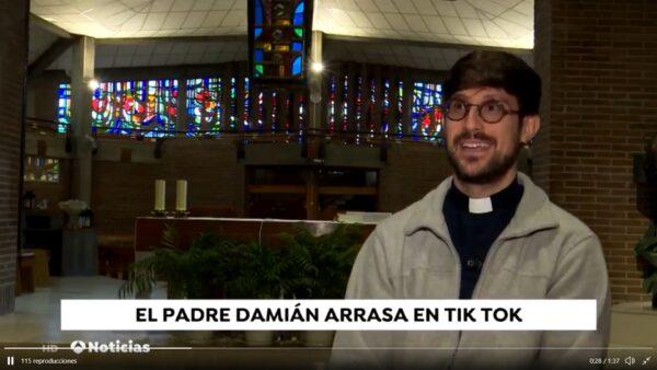 El Padre Damián en Antena 3